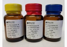 ebrator biochemicals proteinase k